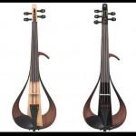 ヤマハのエレクトリックバイオリンに反応