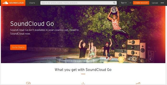 「SoundCloud Go」で、いよいよ有料サービスリリース