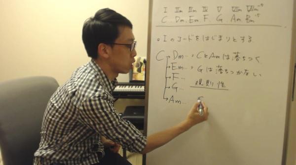 作曲解説動画 | ギターで初心者に解説するコード進行の作り方