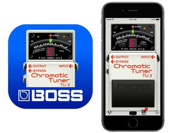 BOSSのあのデザインが無料アプリで使えるという嬉しさは、あります。
