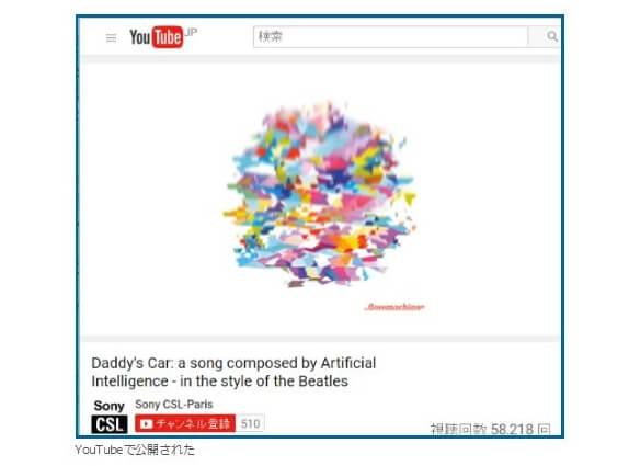 人工知能が作るビートルズっぽい音楽はやっぱりビートルズっぽいので自分は好きです。