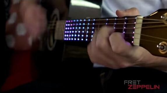 光るギターで合理的にスケール習得